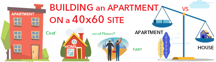 40x60 apartment construction Bangalore