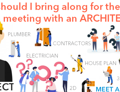 What should I bring along for the first meeting with an Architect?