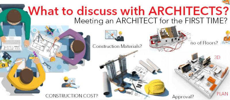 What to discuss with Architects for the first time