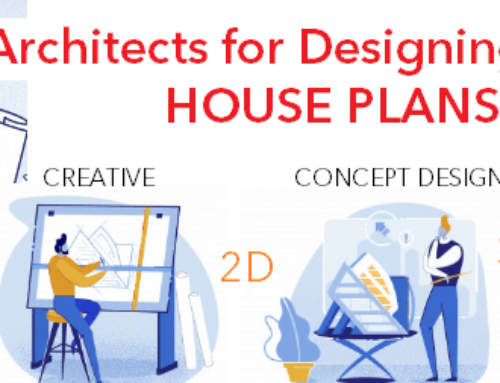 Why HIRE Architects for designing House plans? The importance of Architects in Designing your Dream House