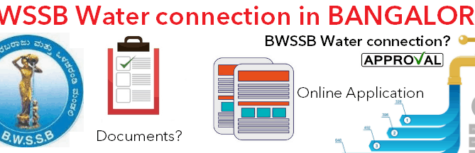 BWSSB water connection in Bangalore BWSSB connection charges