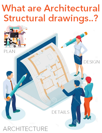 What are architectural working drawings