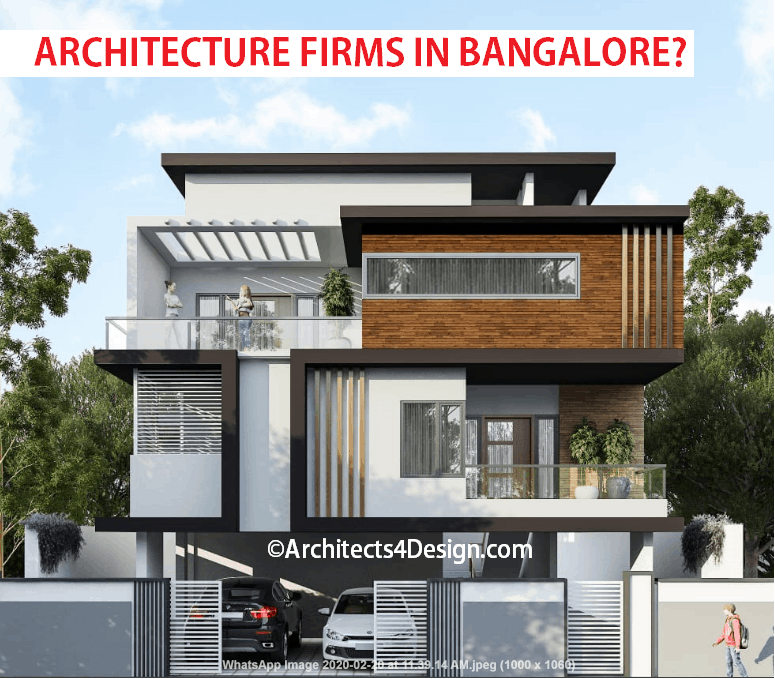 Hiring architecture firms for designing a house