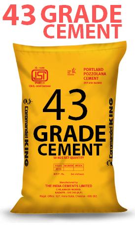 43 Grade cement