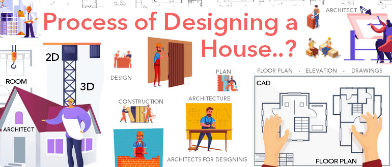 Process of designing a house