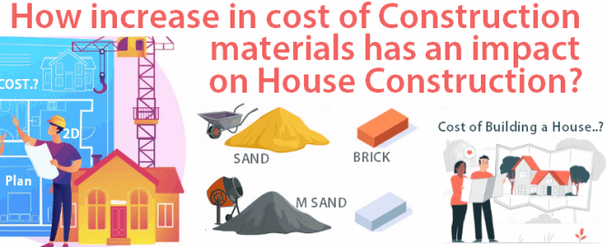 Impact of increase in cost of construction materials