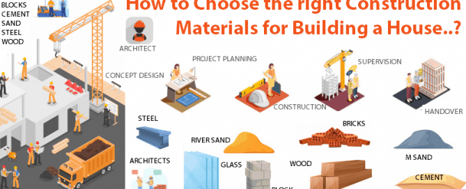 How to choose the right construction materials for building a house