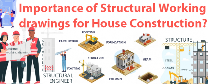 Importance of Structural working drawings for building a house or house construction